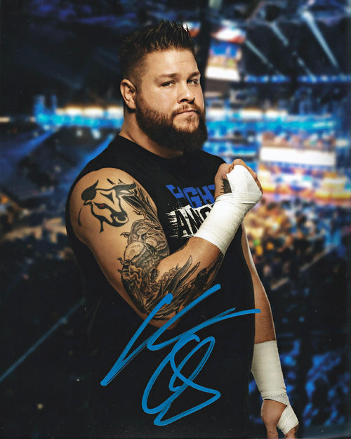 "Kevin Owens Autographed WWE Wrestling Profile 8"" x 10"" Photo - Dynasty Sports & Framing"