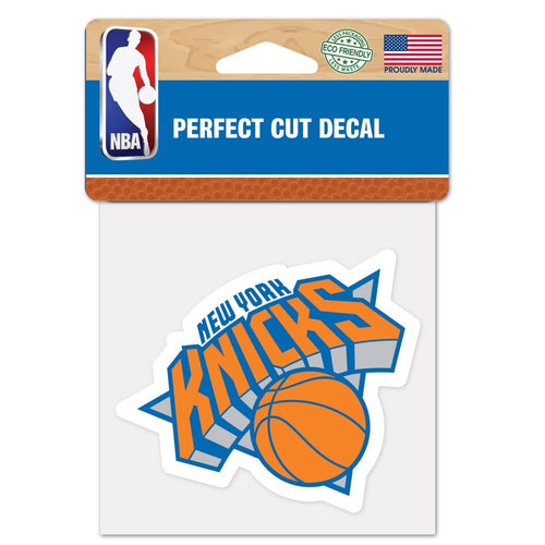 "New York Knicks NBA Basketball 4"" x 4"" Decal - Dynasty Sports & Framing"