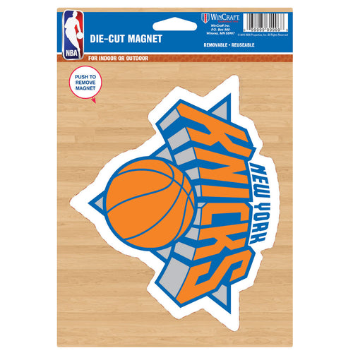 "New York Knicks NBA Basketball 8"" Die-Cut Magnet"