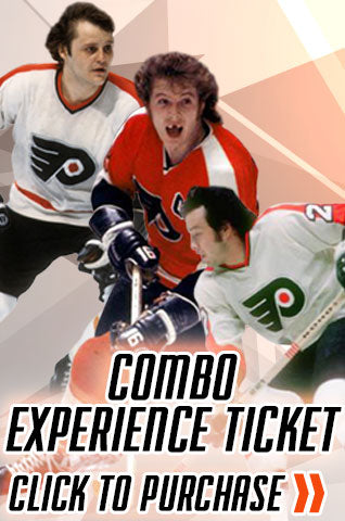 Philadelphia Flyers LCB Line Players Combo Tickets - Dynasty Sports & Framing