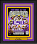 "LSU Tigers All-Time Greats NCAA College Football 8"" x 10"" Photo"