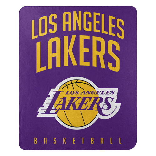 "Los Angeles Lakers NBA Basketball 50"" x 60"" Layup Fleece Blanket - Dynasty Sports & Framing"