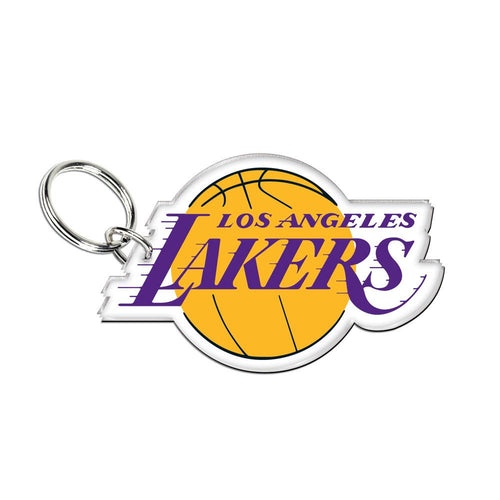 Los Angeles Lakers Acrylic Logo Keychain - Dynasty Sports & Framing