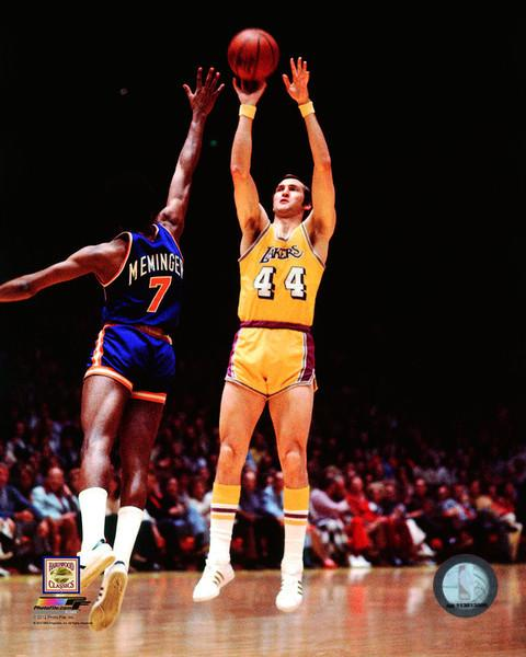 "Jerry West in Action Los Angeles Lakers NBA Basketball 8"" x 10"" Photo"