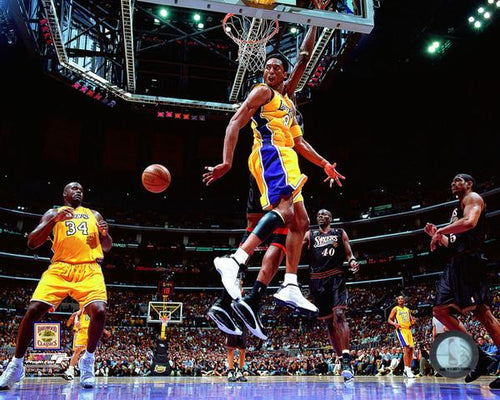 "Shaquille O'Neal & Kobe Bryant Los Angeles Lakers NBA Basketball 8"" x 10"" Photo"