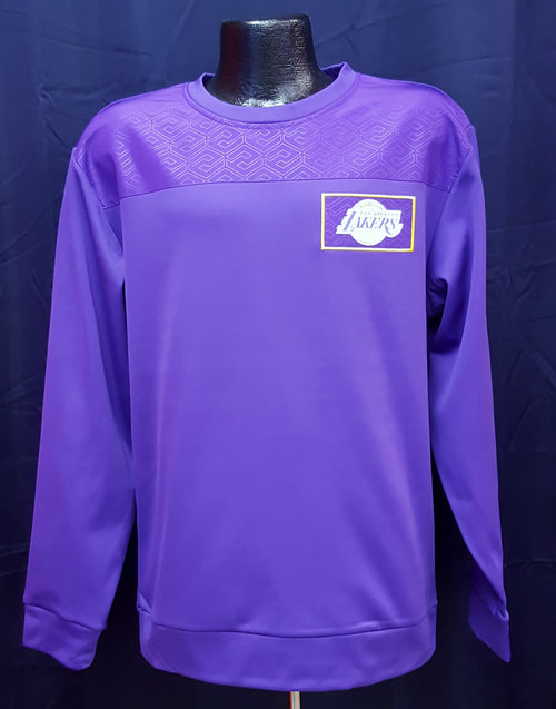 Los Angeles Lakers NBA Basketball Dri-Fit Logo Sweatshirt - Dynasty Sports & Framing