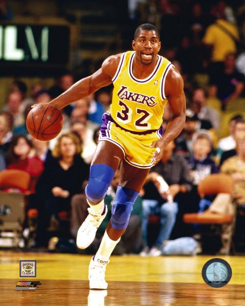 "Magic Johnson Los Angeles Lakers NBA Basketball 8"" x 10"" Photo - Dynasty Sports & Framing"