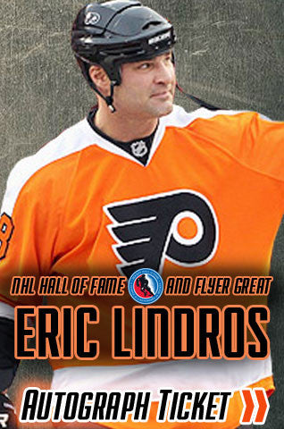 Eric Lindros NHL Hall of Fame Signing (Private Event) - Dynasty Sports & Framing