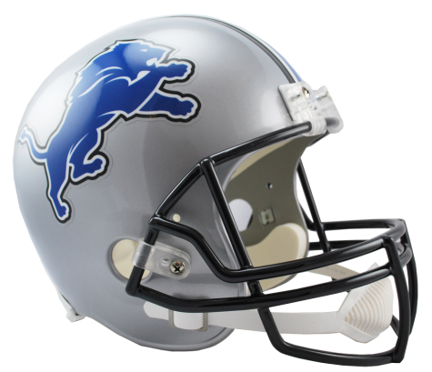 Detroit Lions NFL Full-Size Helmet Replica - Dynasty Sports & Framing