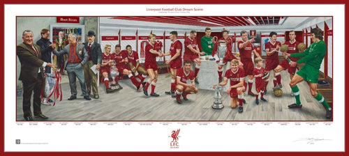 Liverpool FC Exclusive Dream Scene Lithograph Artwork Print by Artist Jamie Cooper - Dynasty Sports & Framing