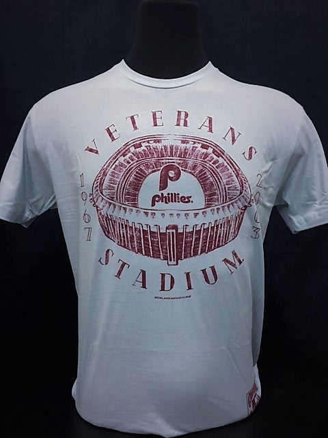 Philadelphia Phillies Mitchell & Ness Veterans Stadium Shirt - Dynasty Sports & Framing