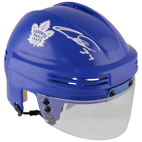 Auston Matthews Toronto Maple Leafs Autographed NHL Hockey Mini-Helmet