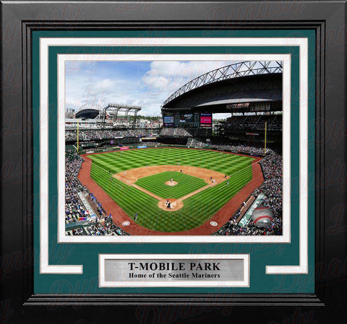 "Seattle Mariners Safeco Field 8"" x 10"" Framed Baseball Stadium Photo - Dynasty Sports & Framing"