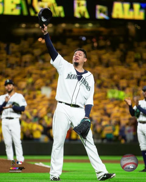 "Felix Hernandez Seattle Mariners Final Career Game in Seattle MLB Baseball 8"" x 10"" Photo - Dynasty Sports & Framing"