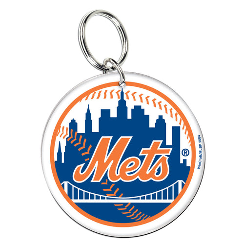 New York Mets Acrylic Logo Keychain - Dynasty Sports & Framing