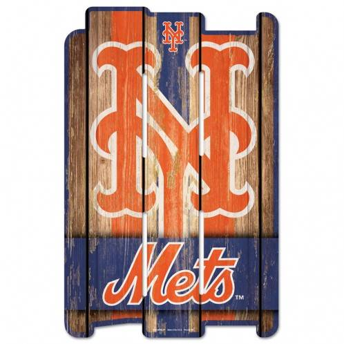 "New York Mets 11"" x 17"" Baseball Fence Sign - Dynasty Sports & Framing"