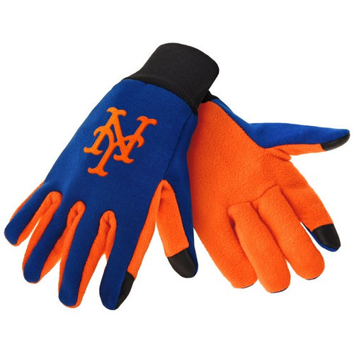 New York Mets MLB Baseball Texting Gloves - Dynasty Sports & Framing