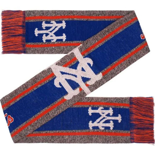 New York Mets Charcoal Logo Scarf - Dynasty Sports & Framing