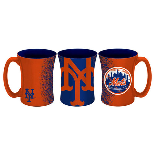 New York Mets 14 oz. Coffee Mocha Mug - Dynasty Sports & Framing