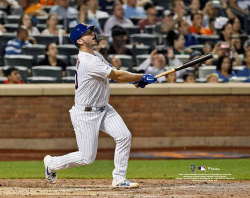 "Pete Alonso Record-Breaking Home Run New York Mets 8"" x 10"" Baseball Photo - Dynasty Sports & Framing"