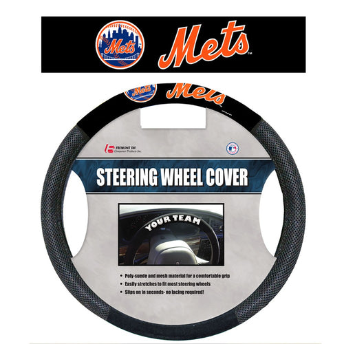 New York Mets Baseball Steering Wheel Cover - Dynasty Sports & Framing