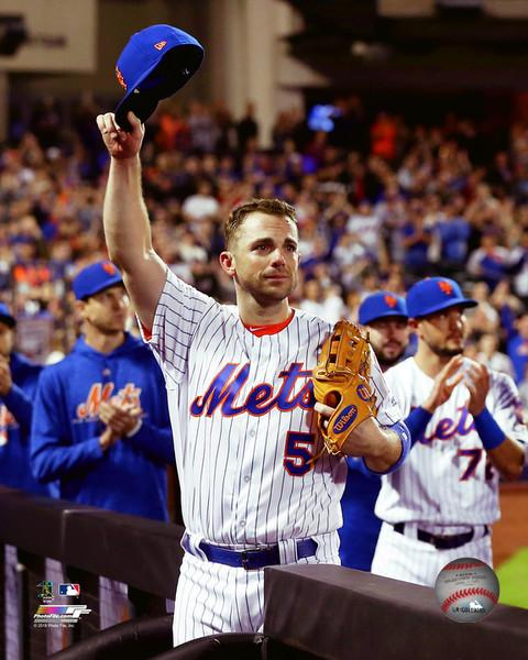 "New York Mets David Wright Final Game MLB Baseball 8"" x 10"" Photo"