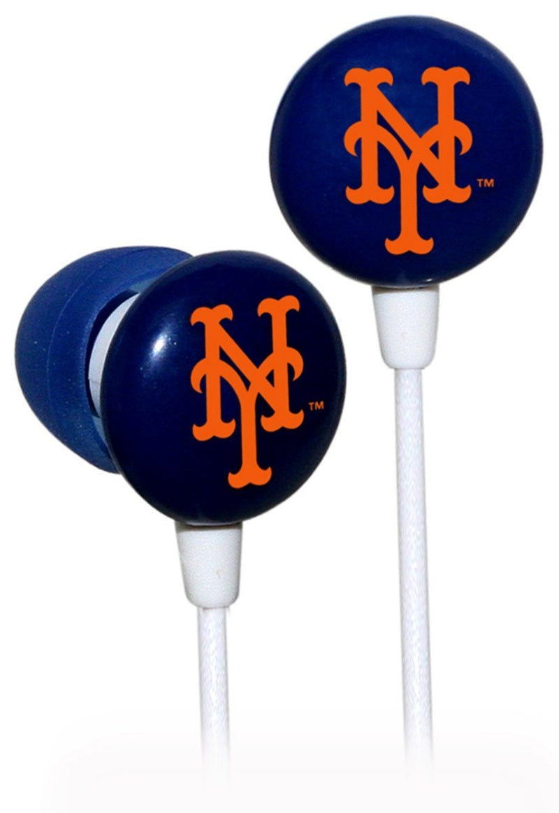 New York Mets MLB Baseball iHip Ear Buds - Dynasty Sports & Framing