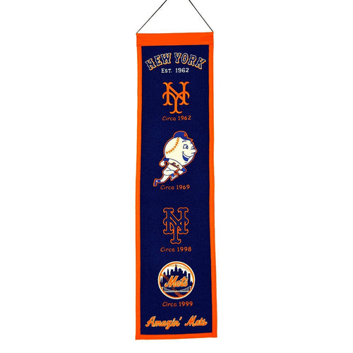 New York Mets MLB Heritage Banner - Dynasty Sports & Framing