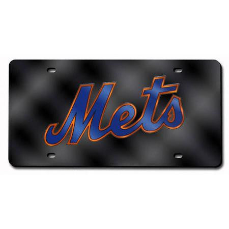New York Mets MLB Laser Cut License Plate - Dynasty Sports & Framing
