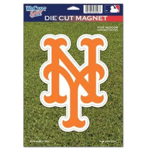 "New York Mets MLB Baseball 8"" Die-Cut Magnet - Dynasty Sports & Framing"