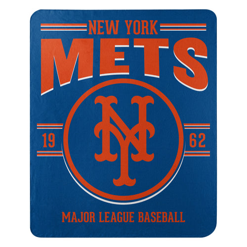 New York Mets Southpaw Fleece Throw Blanket - Dynasty Sports & Framing