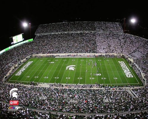 "Michigan State Spartans Spartan Stadium NCAA College Football 8"" x 10"" Photo"