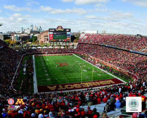 "Minnesota Golden Gophers TCF Bank Stadium NCAA College Football 8"" x 10"" Photo - Dynasty Sports & Framing"