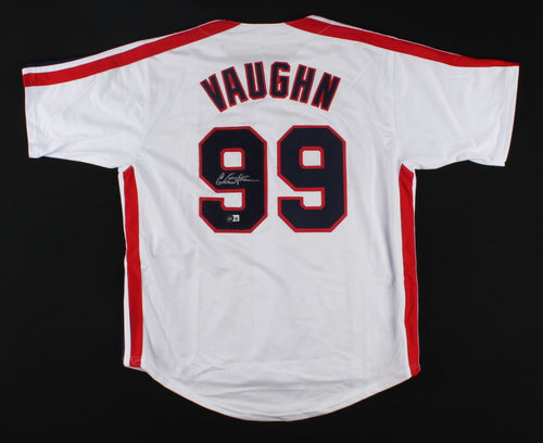 Charlie Sheen Autographed Rick Vaughn Major League Baseball Jersey