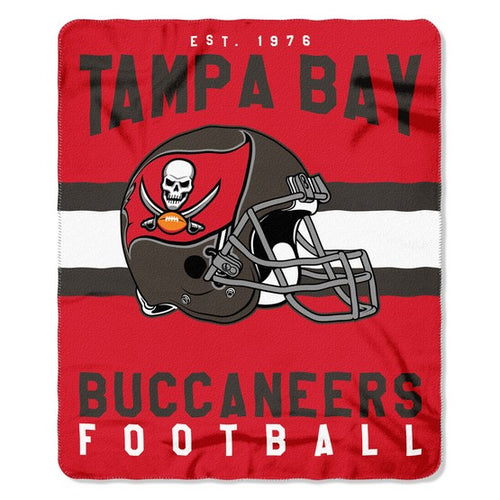 "Tampa Bay Buccaneers NFL Football 50"" x 60"" Helmet Fleece Blanket"