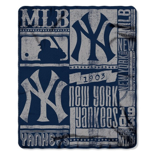 "New York Yankees MLB Baseball 50"" x 60"" 1903 Fleece Blanket - Dynasty Sports & Framing"