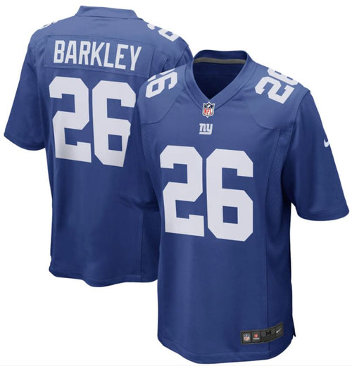Saquon Barkley New York Giants Nike Royal Blue Game Jersey - Dynasty Sports & Framing