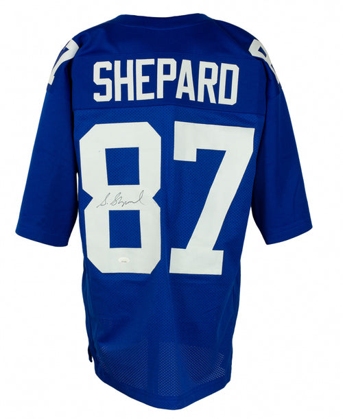 Sterling Shepard New York Giants Autographed Football Jersey - Dynasty Sports & Framing