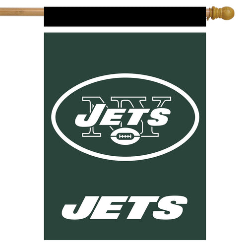 New York Jets Football House Flag - Dynasty Sports & Framing