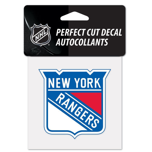 "New York Rangers NHL Hockey 4"" x 4"" Decal - Dynasty Sports & Framing"