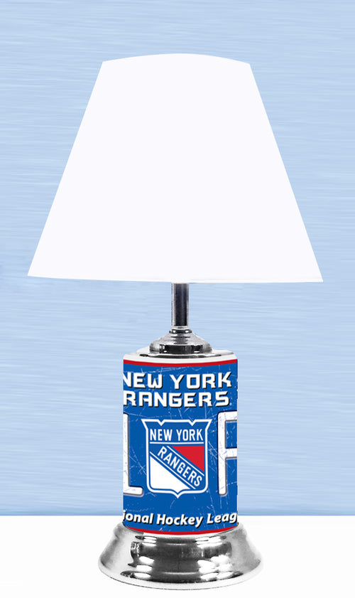New York Rangers NHL Hockey #1 Fan Lamp - Dynasty Sports & Framing