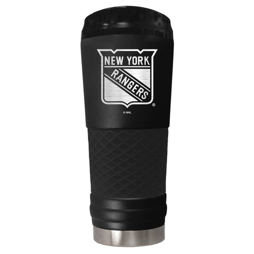 New York Rangers 18 oz. Jr. Stealth Stainless Steel Travel Tumbler