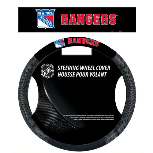 New York Rangers Hockey Steering Wheel Cover - Dynasty Sports & Framing