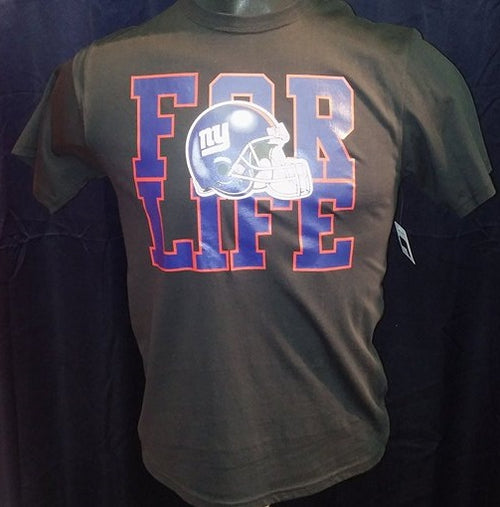 New York Giants NFL Football For Life Youth T-Shirt