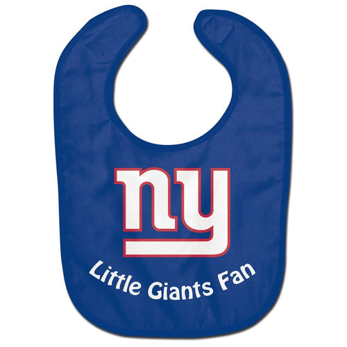 New York Giants NFL Football Baby Bib