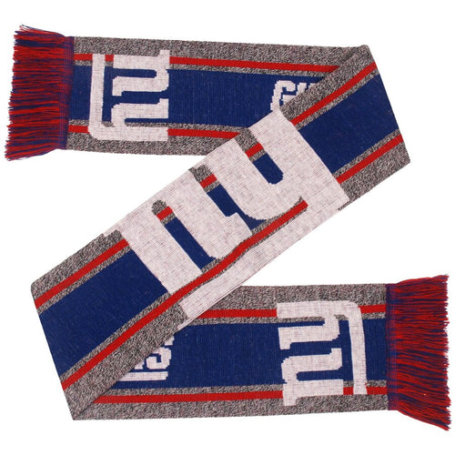 New York Giants Charcoal Logo Scarf - Dynasty Sports & Framing