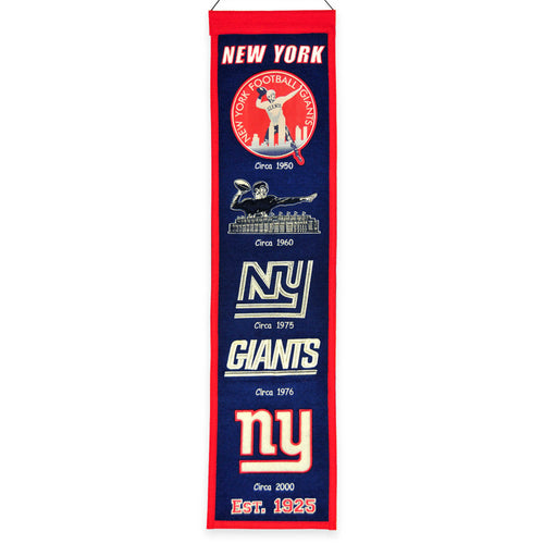 New York Giants NFL Heritage Banner - Dynasty Sports & Framing