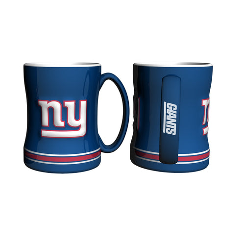 New York Giants NFL Football Logo Relief 14 oz. Mug