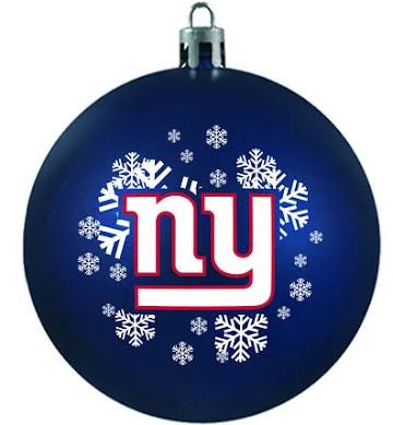 New York Giants Shatterproof Holiday Ball Ornament