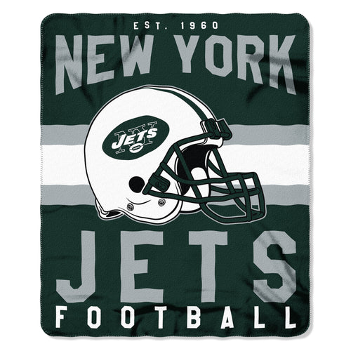 "New York Jets NFL Football 50"" x 60"" Singular Fleece Blanket - Dynasty Sports & Framing"